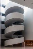 Escaleras en el pasillo Imagen de archivo