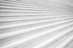 Escaleras en fondo gris del cemento en París, Francia foto de archivo
