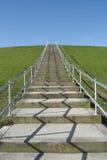 Escaleras en la colina Imagenes de archivo
