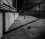 Escaleras en la gama infrarroja imágenes de archivo libres de regalías