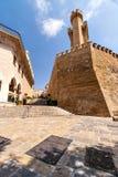 Escaleras en la parte histórica de Palma de Mallorca Imágenes de archivo libres de regalías