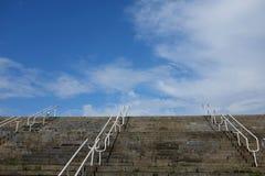 Escaleras en Linnahall, Tallinn, Estonia Imagen de archivo