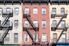 Escaleras en Nueva York imagen de archivo libre de regalías