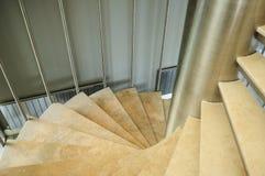 Escaleras en un edificio Foto de archivo libre de regalías