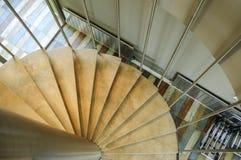 Escaleras en un edificio Fotografía de archivo libre de regalías