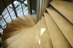 Escaleras en un edificio Imagen de archivo libre de regalías
