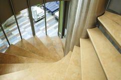 Escaleras en un edificio Fotos de archivo