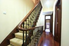 Escaleras en un edificio histórico Imagen de archivo libre de regalías