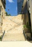 Escaleras entre los apartamentos Fotografía de archivo libre de regalías