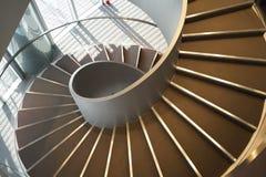 Escaleras espirales Foto de archivo