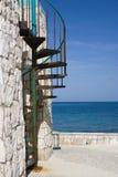 Escaleras espirales Fotografía de archivo libre de regalías