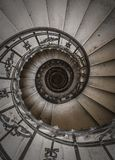 Escaleras espirales imagen de archivo libre de regalías