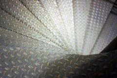 Escaleras espirales del metal Imagen de archivo libre de regalías