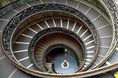 Escaleras espirales del Vaticano Fotos de archivo