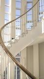 Escaleras espirales Punto de vista frontal Imágenes de archivo libres de regalías