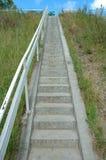 Escaleras estrechas Foto de archivo libre de regalías