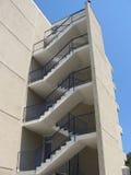 Escaleras exteriores Foto de archivo libre de regalías