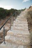 Escaleras, Grecia Imagen de archivo