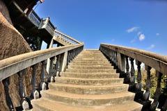 Escaleras hacia arriba Fotografía de archivo
