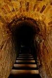 Escaleras hacia el metro imagen de archivo