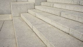 Escaleras hechas de piedra almacen de metraje de vídeo