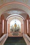 Escaleras imperiales de la abadía de Melk, Austria Fotos de archivo