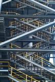 Escaleras industriales Fotos de archivo libres de regalías