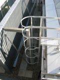 Escaleras industriales Fotos de archivo