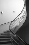 Escaleras interiores Fotografía de archivo