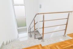 Escaleras interiores Foto de archivo libre de regalías
