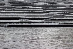 Escaleras inundadas Fotografía de archivo libre de regalías