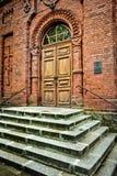 Escaleras a la iglesia ortodoxa - imagen de archivo libre de regalías
