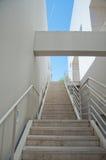 Escaleras largas Imagen de archivo libre de regalías