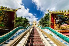 Escaleras largas Fotografía de archivo libre de regalías