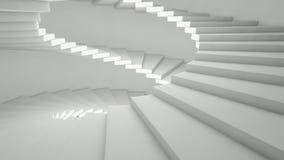 escaleras laterales