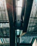 Escaleras lluviosas Fotos de archivo