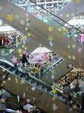 Escaleras móviles en Pascua Fotografía de archivo libre de regalías