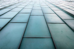 Escaleras metálicas futuristas Foto de archivo