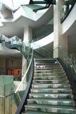 Escaleras modernas foto de archivo