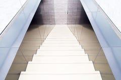 Escaleras modernas Fotografía de archivo