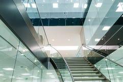 Escaleras modernas Imágenes de archivo libres de regalías