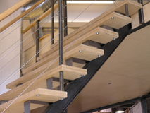 Escaleras para arriba Imagen de archivo libre de regalías