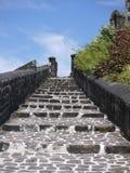 Escaleras para luchar el edificio Imagen de archivo