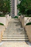 Escaleras que suben Fotos de archivo