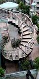 Escaleras redondas imagenes de archivo
