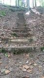 Escaleras sin fin imagen de archivo