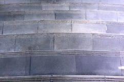 Escaleras sucias Foto de archivo libre de regalías