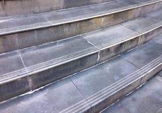 Escaleras sucias Fotografía de archivo libre de regalías