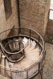Escaleras torcidas Imagenes de archivo