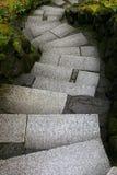 Escaleras torcidas imagen de archivo